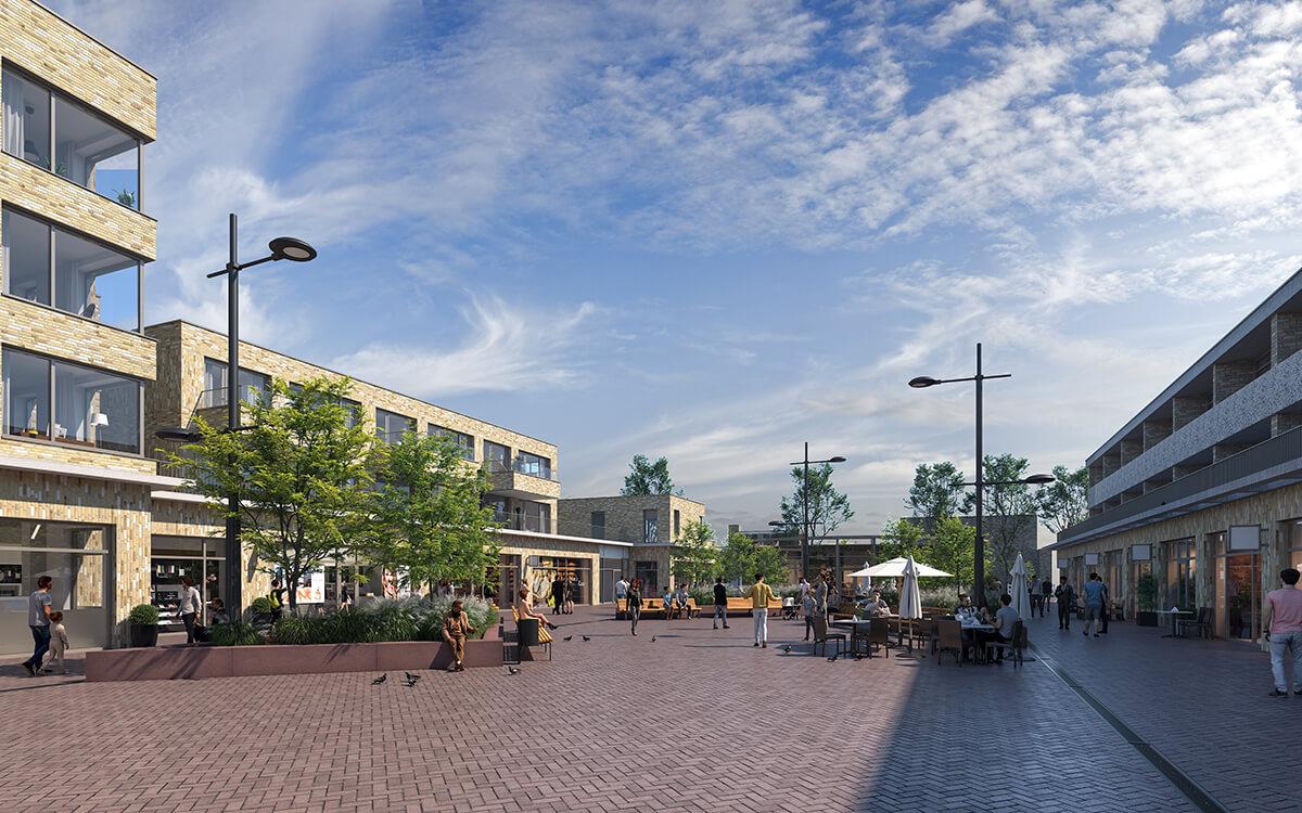 Winkelcentrum Duinzigt appartementen